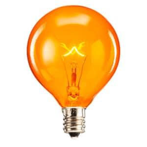 Scentsy 25 Watt Light Bulb - Orange