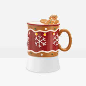 Gingerbread Man Scentsy Mini Warmer With Tabletop Base