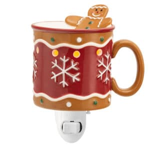 Gingerbread Man Scentsy Plugin Mini Warmer