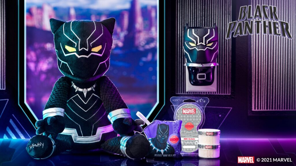 Black Panther Scentsy Buddy & Wall Fan Diffuser