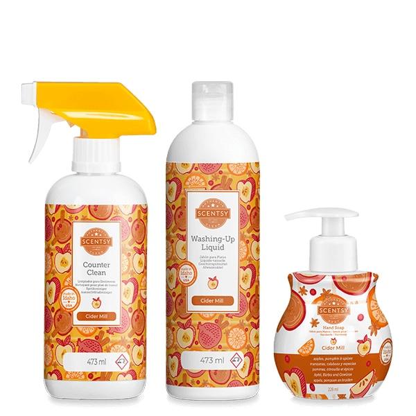 Cider Mill Clean & Hand Soap Bundle